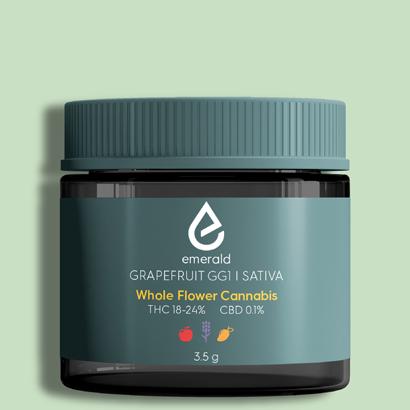 Grapefruit GG1 Sativa Whole Flower Cannabis