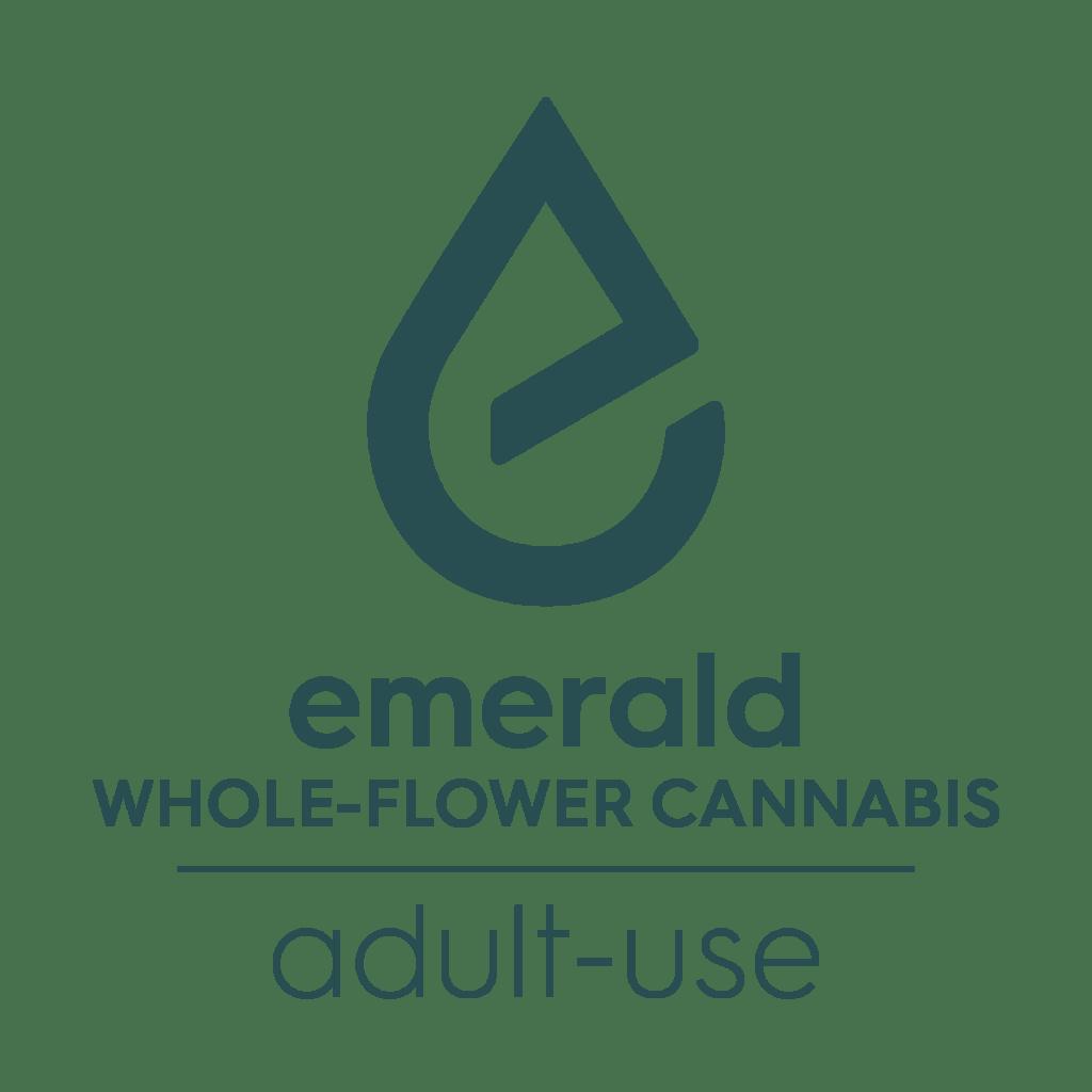 Emerald whole flower cannabis logo V2 01