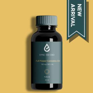 SYNC 100 Full Flower Cannabis Oil 100mg